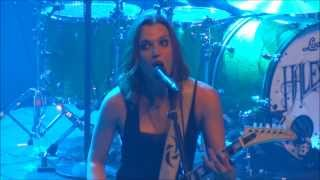 Halestorm - I Miss The Misery (Live - AB - Brussels - Belgium - 2013)