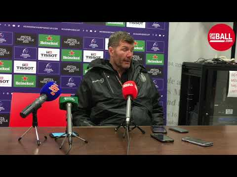 """Rob Baxter reflects on Munster defeat: """"We're kind of there or there about """""""