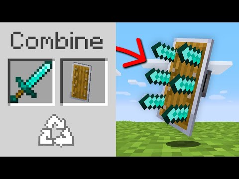 Minecraft, But You Can Combine Any Item…