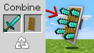 Minecraft, But You Can Combine Any Item...