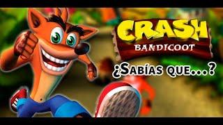 ¿Sabías que...? Curiosidades de Crash Bandicoot