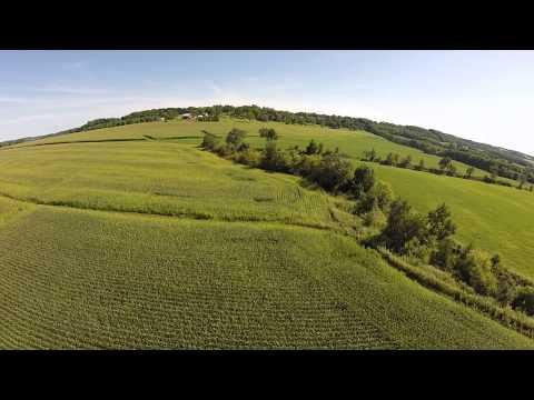 DMZ Aerial scouting near Scales Mound, IL with Pete Bonin