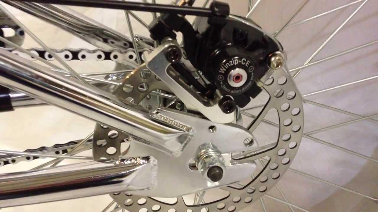 Rear Wheel Disc Brake Kit