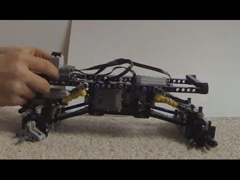 Video Instructions Lego Universal 4 Link Rock Crawler Chassis Youtube