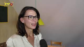Staatssekretärin Rita Schwarzelühr-Sutter besucht Tübingen