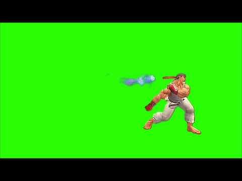 Green Screen Street Fighter