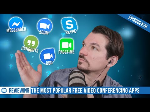 [REVIEW] Testing The Most Popular FREE Video Conferencing Apps for Personal Use - HQ #029