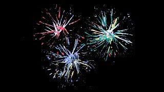 Four ways to paint fireworks