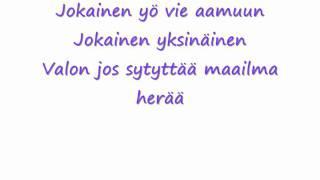 Antti tuisku - Yksinäinen (Lyrics)