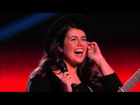 The Voice 2015 Blind Audition   Madi Davis It's Too Late