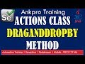 Selenium with Java 30 - Actions class DragAndDropBy Method explained in detail with code