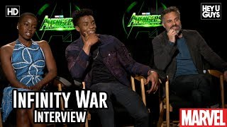 Mark Ruffalo, Chadwick Boseman & Danai Gurira on Wakanda's place in Avengers Infinity War Interview