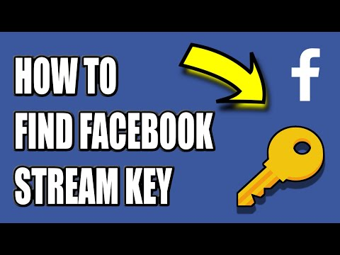 How To CREATE A FACEBOOK Stream Key And GO LIVE On OBS! (EASY METHOD)
