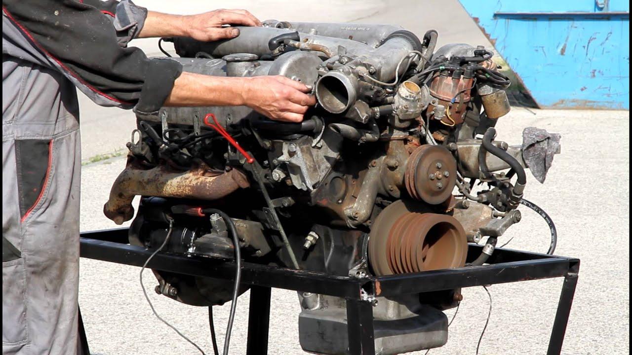 Mercedes Motor M100 6 3 Liter Motornummer 100 981 12 000538 Ebay