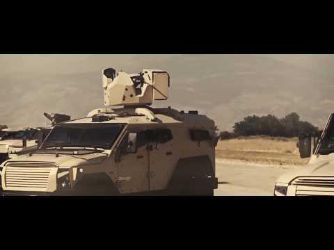 Eurosatory 2018: Plasan From Israel Introduces New 4 GEN Sandcat 4x4 Armored Vehicle