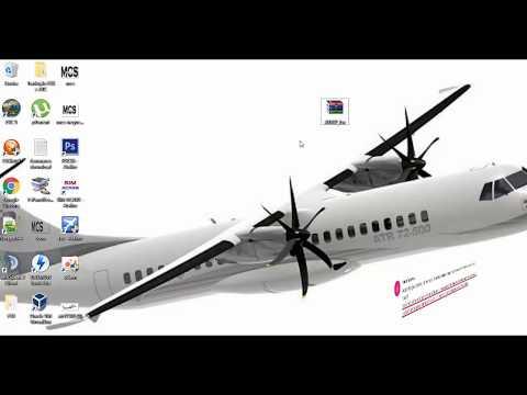 Instalando ATR 72 500 e ATR 72 600 no FSX