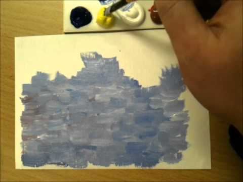 Paint Like Monet: A Beginner's Guide - YouTube