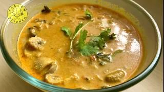 Restaurant Style Mushroom Gravy in Tamil | mushroom masala recipe |  | காளான்  குழம்பு