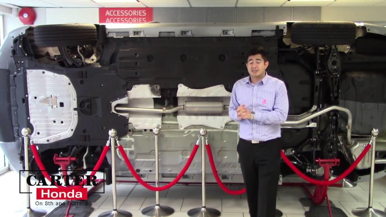 2016 Honda Civic Underneath - YouTube
