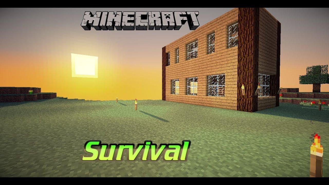 Minecraft Survival (S1E11) U0026quot;New House Ideasu0026quot; - YouTube