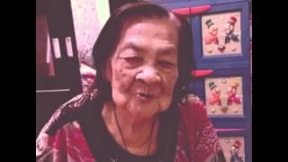 Nenek nyanyi sanko tentang pacaran (hakka)