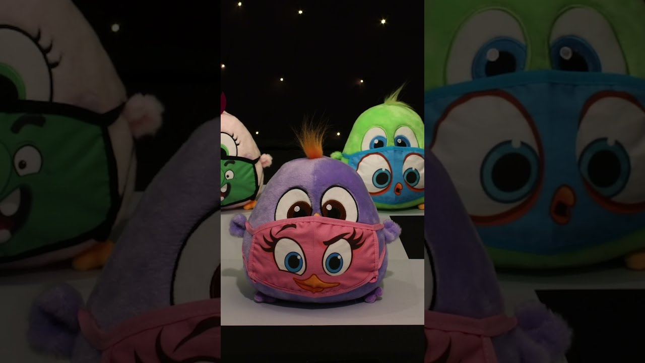 Angry Birds Hatchlings Fashion Show 2021 #Shorts
