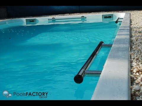 15. PoolsFACTORY GROUP GFK Pool Schwimmbecken Hersteller - Handlauf ...