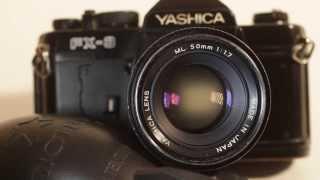 Об'єктив яшики мл і FX-3 Інструкція SLR відео