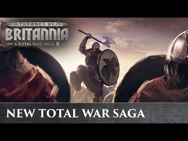 Total War Saga: Thrones of Britannia (видео)