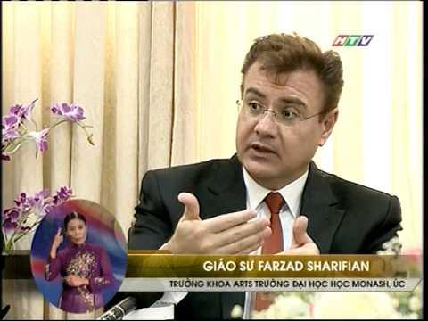 Professor Farzad Sharifian's visit to the University of Education, Ho Chi Minh City, on Vietnam TV