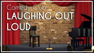 Laughing Out Loud Comedy Club - The Sims 4 Speed Build