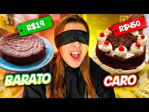 COMIDA CARA VS COMIDA BARATA! (CONSIGO ACERTAR?)