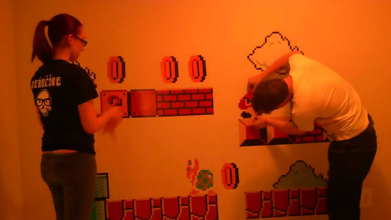 Adesivi Da Parete   (Wall Stickers) New Super Mario Bros