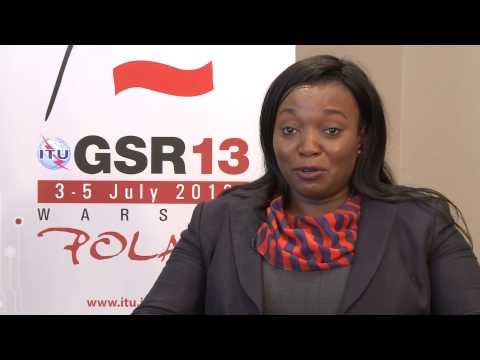 GSR13:  Margaret Mudenda, DG,  Zambia Information and Comms. Technology Authority - Interview