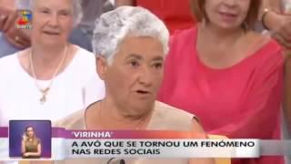 Entrevista com Dona Elvira no Você na TV