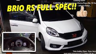 BRIO RS FULL SPEC!! Honda Brio RS UPGRADE Stir CR-V Gen4 Builtup Japan + Speedometer HR-V Prestige