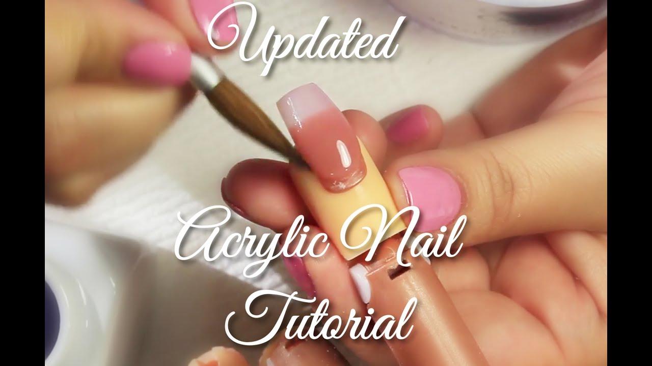 Updated acrylic nail tutorial selinas nail art youtube updated acrylic nail tutorial selinas nail art prinsesfo Choice Image