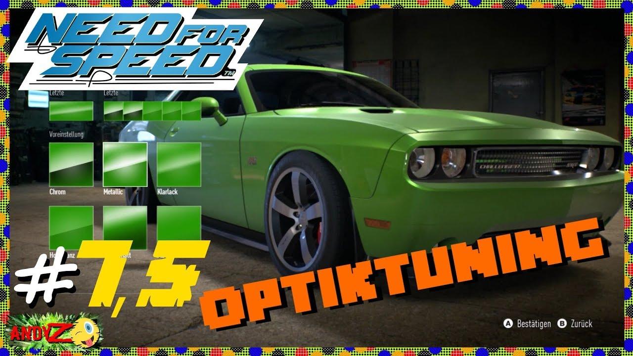 Dodge challenger optik tuning need for speed 7 5