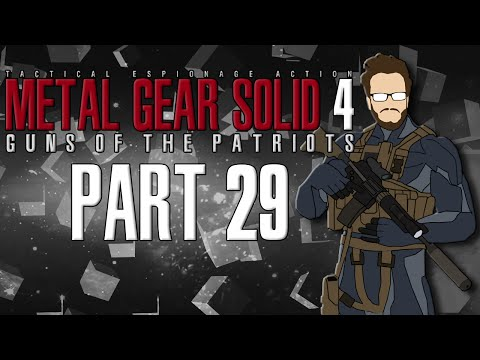 Let's Play Metal Gear Solid 4 Guns of the Patriots - Part 29 - The Blast Furnace