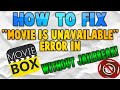Tutorial: How to Fix Movie Box