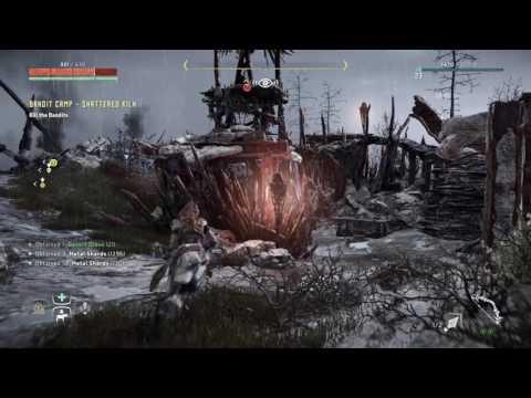 Horizon Zero Dawn Nil Interaction #3 - Bandit Camp Shattered Kiln