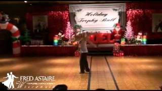 Eric Luna & Georgia Ambarian at Trophy Ball 2011 Part 2