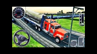 Offroad Indian Truck Spooky Stunt Driver - Mountain Heavy Cargo Truck Drive 2 - Android GamePlay HD screenshot 5