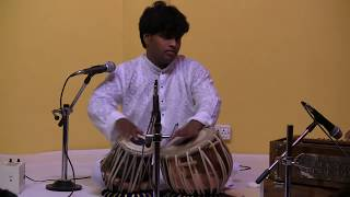 Tabla Solo by Pandurang Pawar from Pune , at International Yoga & Music Festival Rishikesh Part 3