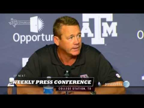 Mark Snyder: 08-27 TAMU Weekly Press Conference