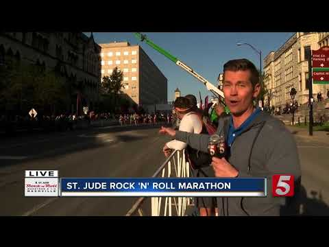 30K Runners Take Part In Nashville Rock 'n' Roll Marathon