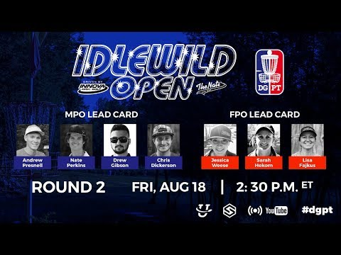 DGPT R2: Idlewild Open powered by Innova & The Nati Disc Golf - Presnell, Perkins, Gibson, Dickerson