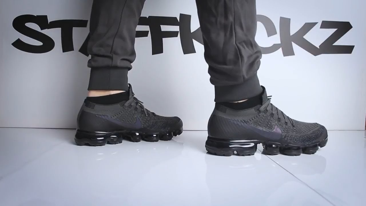 bc8c3a5260e Nike Air Vapormax Flyknit   Grey   - Unboxing   On Feet - YouTube