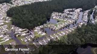 Video: Aerial View of Horry County, S.C. Flooding