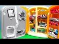 はたらくくるま 働く車を冷蔵庫にしまおう♪ アンパンマン れいぞうこ キッチン 消防車 救急車 ショベルカー ブルドーザー  乗り物 のりもの 子供向け おもちゃ アニメ トミカ TOMICA